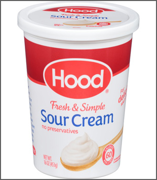 Let Your Love Open The Door to Hood Sour Cream!